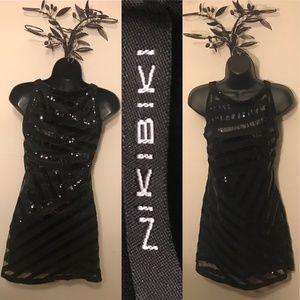 Sexy Black Sequins dress